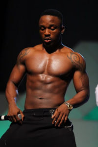 Iyanya Pictured on stage