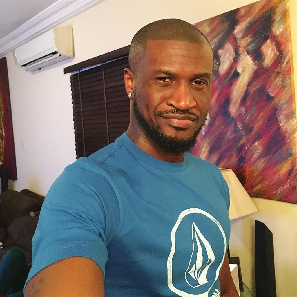 Peter Okoye celebrates one year as Mr P