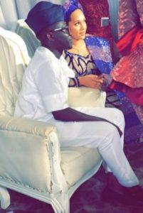 Tania Omotayo traditional wedding photos