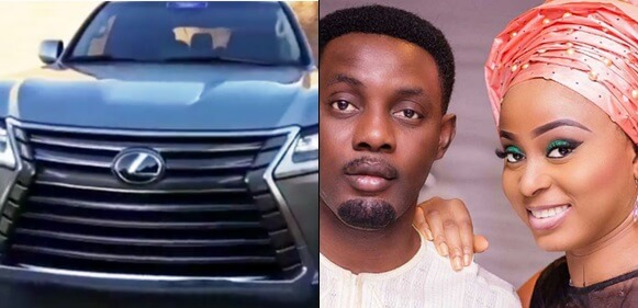Comedian AY Buys Wife, Mabel a Brand New Lexus Jeep As Wedding Anniversary Gift