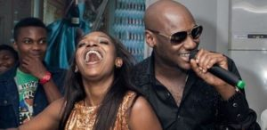 Watch As Annie Idibia Twerks On Her Husband, 2face Idibia (Video)