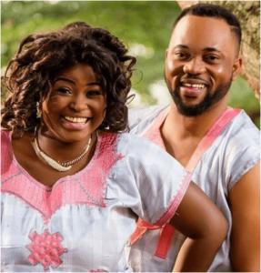 Bukola Awyemi and her husband