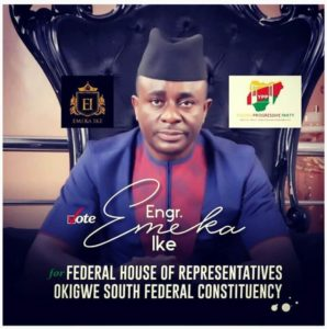 Emeka Ike campaign posters