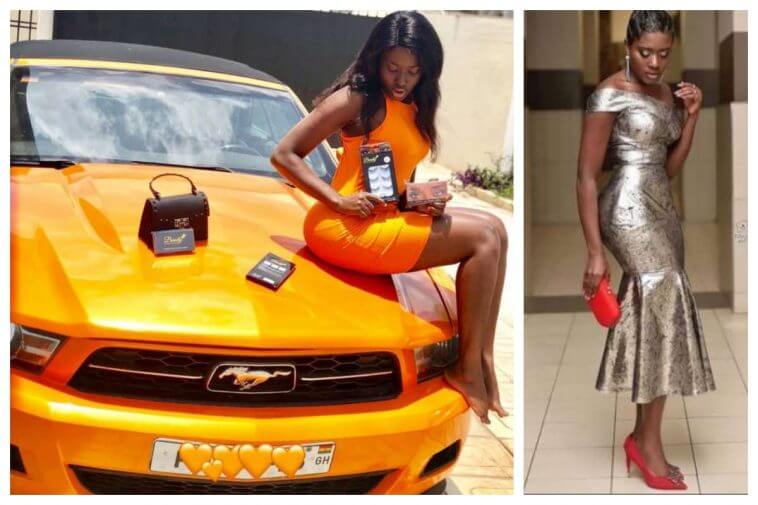 Ghanaian Actress Fella Makafui's Ex-Boyfriend Takes Back Car He Bought For Her