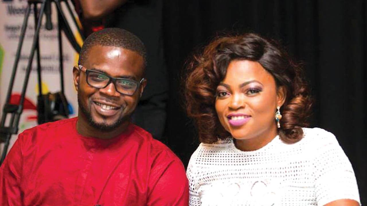 Funke Akindele and her husband
