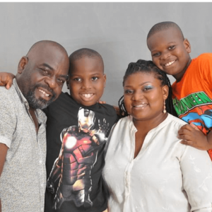 Funsho Adeolu Wife and Children