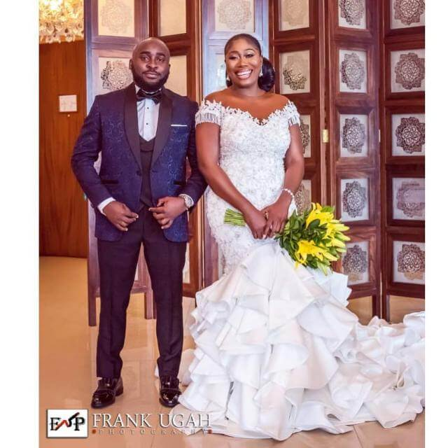 Photos From OAP Gbemi Olateru-Olagbegi & Femisoro Ajayi White Wedding