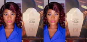 Beautiful Actress Mercy Johnson Wins Actress Of The Year At ELOY Award 2018