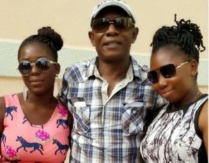 Nkem Owoh and daughters
