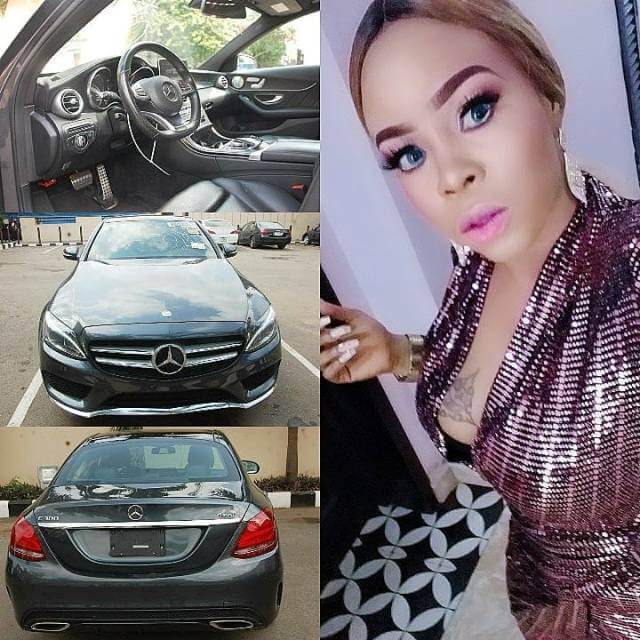 Actress Yetunde Aderibigbe Buys A Benz For The New Month