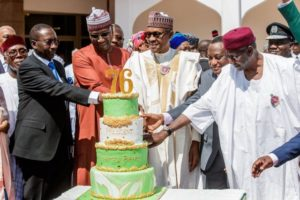 See Photos From President Buhari's 76th Birthday