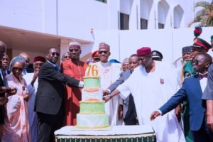 Photos From President Buhari's 76th Birthday