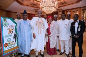 Buhari 76th birthday photos