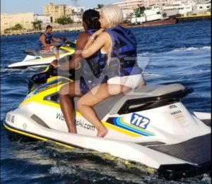 Cardi B & Offset Are Spotted Together Jet Skiing In Puerto Rico (Photos)
