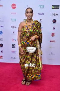 Juliet Ibrahim at Chief Daddy premeire