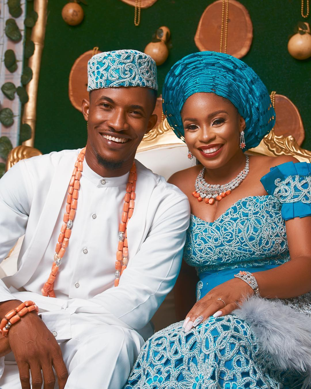 Photos From Gideon Okeke & His Love Chidera Uduezue Traditional Wedding