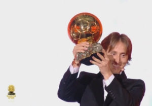 Luka Modric Beats Ronaldo And Messi To Win Ballon d'Or 2018 Award