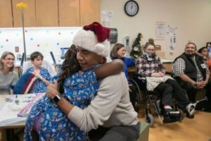 Barack Obama Dresses As Santa To Give Out Gifts To Children At Hospital