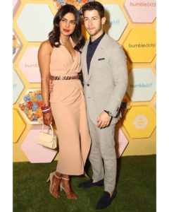 Priyanka Chopra & Nick Jonas Make First Red Carpet Appearance As Married Couple (Photos)