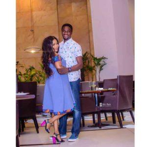 Actress Seyi Edun shuts down Break Up Rumors With Adeniyi Johnson, Shares Loved Up Photo