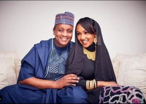 President Buhari's Daughter, Zahra And Her Husband Celebrates 2nd Wedding Anniversary With Lovely Photos