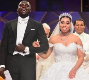 Carissa Sharon Oyakhilome and Philip Frimpong