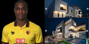Nigerian Striker Odion Ighalo Shows Off His Multi-Million naira Mansion