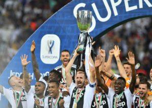 Juventus win Italian Supercoppa
