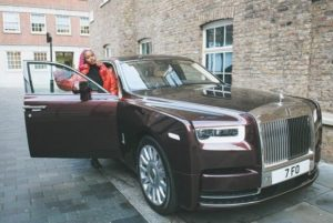 DJ Cuppy Shows Of Her Newly Acquired Rolls Royce Phantom (Photos)2