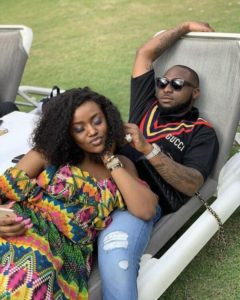 See How Davido Advertised Chef Chioma's Cooking Show