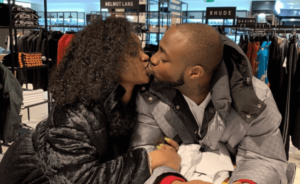Davido And Chioma Shares Passionate Kiss As They Reunite In London