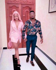 Singer Diamond Platnumz Steps Out With His New Girlfriend, Tanasha
