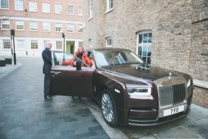 DJ Cuppy Shows Of Her Newly Acquired Rolls Royce Phantom (Photos)