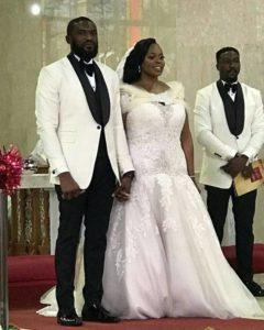 Keneth Okolie and wife