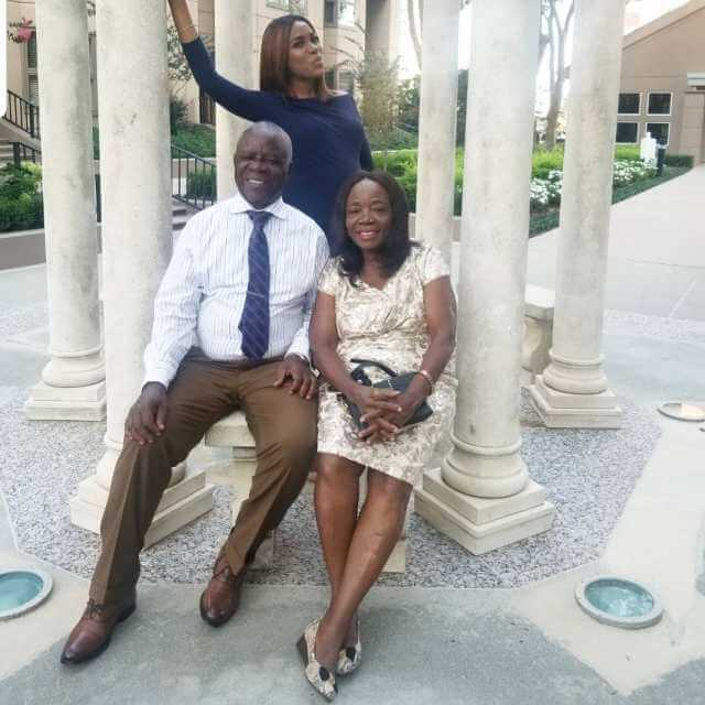 Linda Ikeji Celebrates Her Parent On Their 40th Wedding Anniversary (Photos)