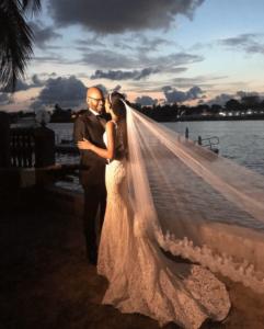 Makida Moka and Oliver Onyekweli wedding photo