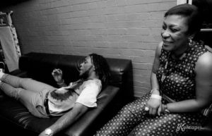 Burna Boy's Mother Put On A Show At The Soundcity Awards And