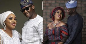 Dolapo Badmus and her husband