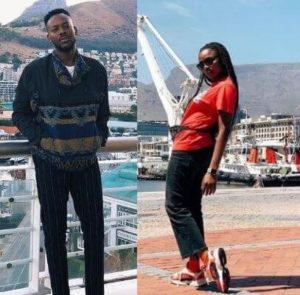 Photos Of Adekunle Gold & Simi Honeymoon In South Africa
