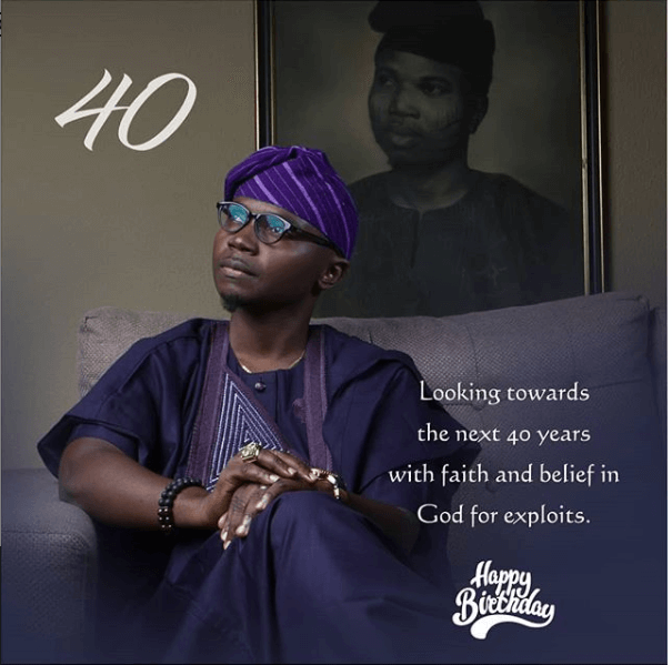 Teju Babyface Celebrates 40th Birthday With Powerful Testimony