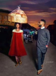 Olajumoke bread seller bomb into photoshoot