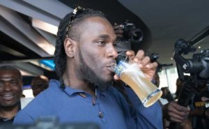 Burna Boy Unveiled As Star Lager Beer Brand Ambassador Photos