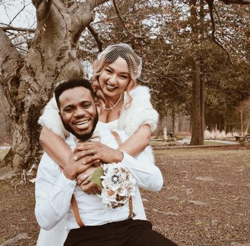 Nigerian Singer Lamboginny Marries Fiancee In Vintage Style (Photos)