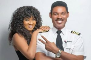 Omotola Jalade-Ekeinde and her husband
