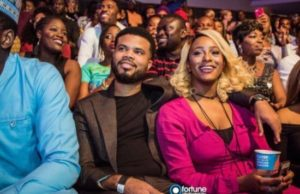 Asa Asik and Dj Cuppy at event