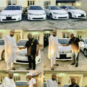 E-Money Gives Out Brand New Cars To Celebrate His Birthday (Photos)