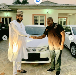 E-money gives out cars
