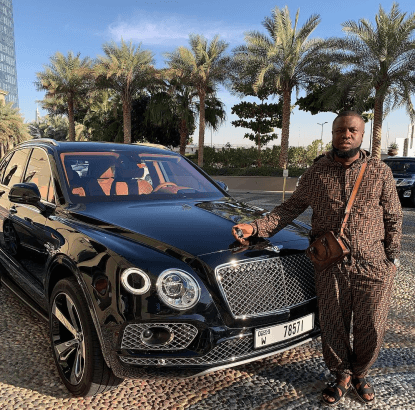 Hushpuppi Buys A Bentley Bentayga As Valentine Gift (Photos)