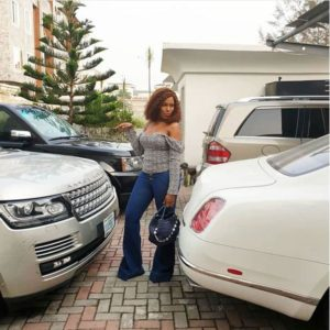 Linda Ikeji Shows Off Her Expensive Car Collection