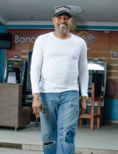 Saheed Balogun birthday photo